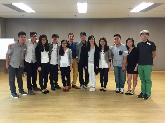 Musical Workshop by Paul Phoenix (31 Oct 2015)